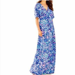 LILLY PULITZER Parigi Maxi Dress XXS